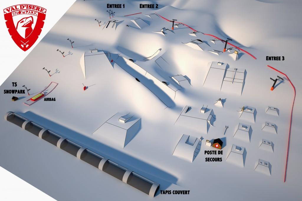 val d isere snowpark plan 2016_final