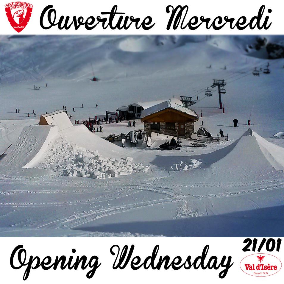 ouverture snowpark 2015