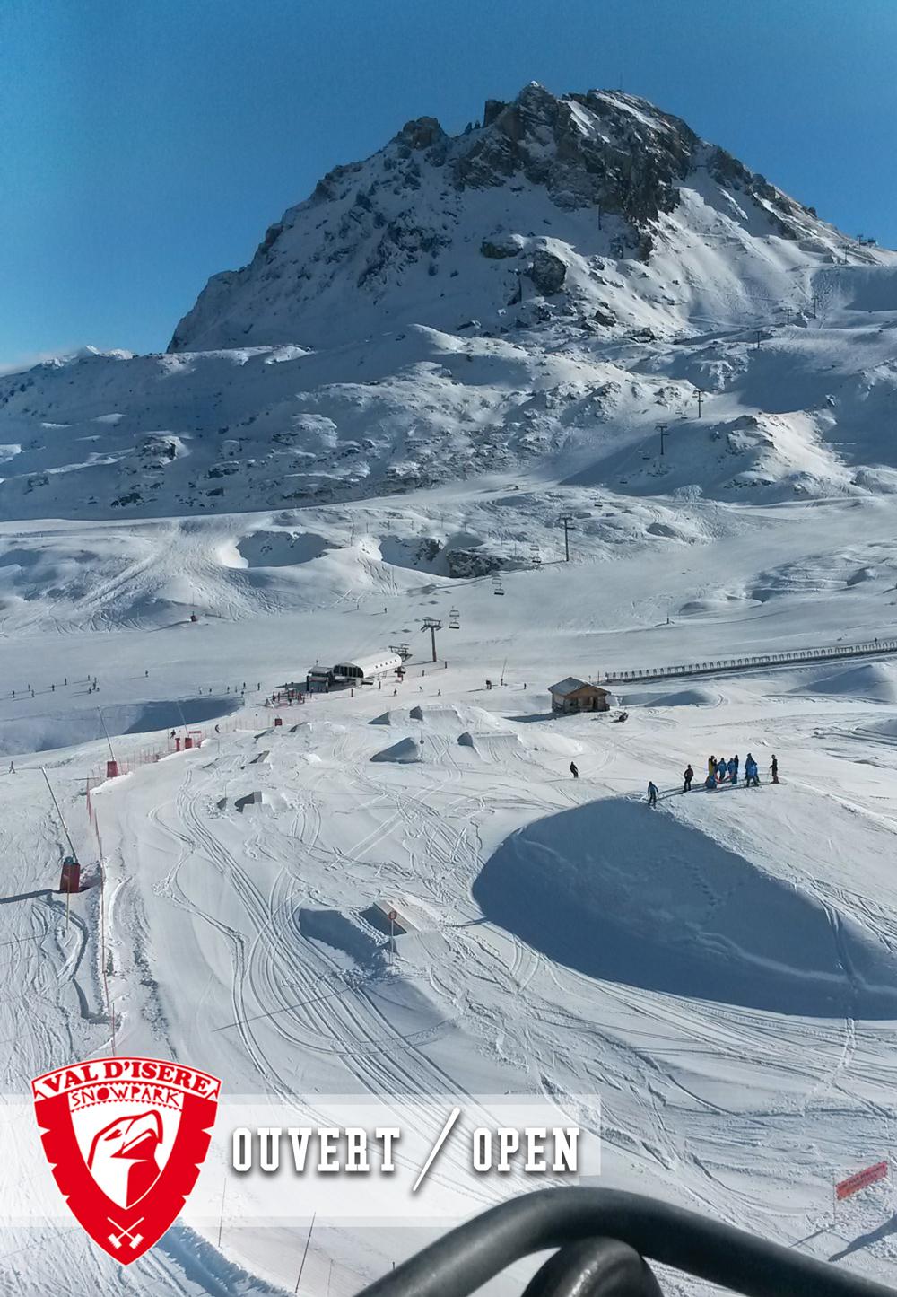 5 décembre 2015 OUVERTURE SNOWPARK