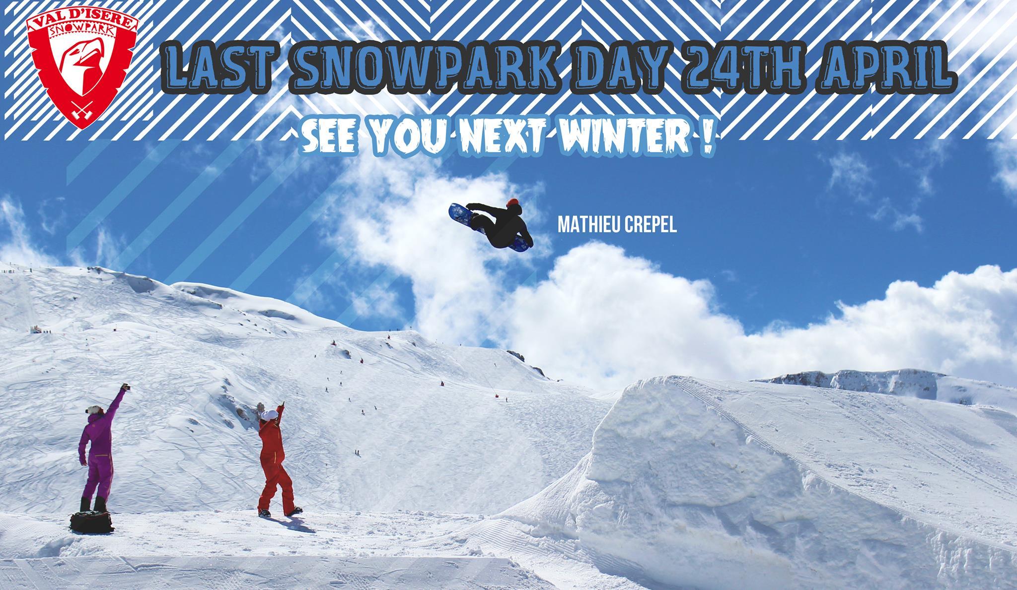 Mathieu Crepel Val d'Isère Snowpark